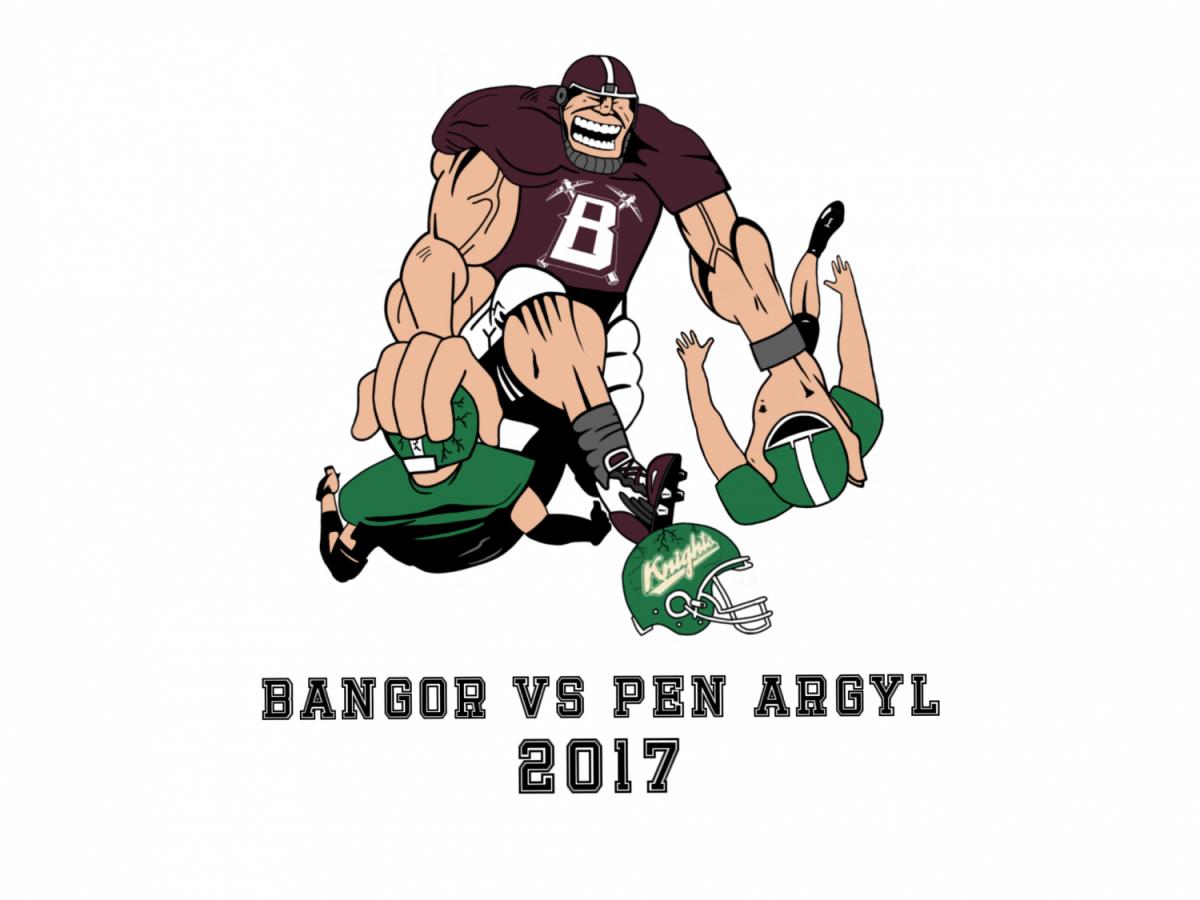 BANGOR VS PEN ARGYL SPIRIT SHIRTS ON SALE NOW