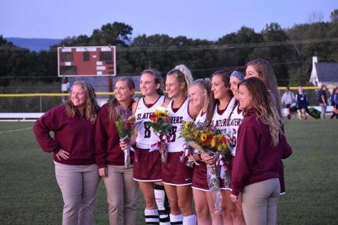 FIELD HOCKEY APPRECIATES SENIORS