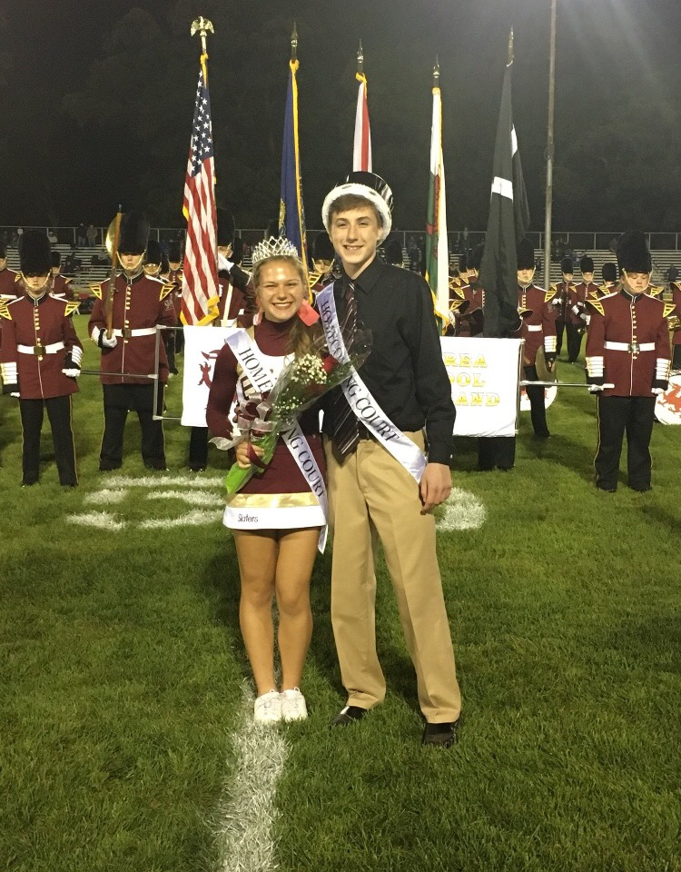 MABUS AND SELL CROWNED KING AND QUEEN