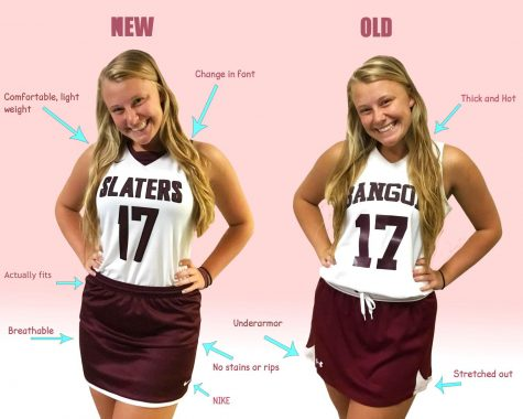 NEW FIELD HOCKEY UNIFORMS ARRIVE