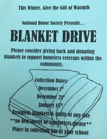 NATIONAL HONOR SOCIETY GIVES BACK TO THE COMMUNITY