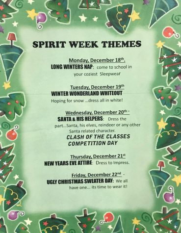 GET INTO THE HOLIDAY SPIRIT WEEK