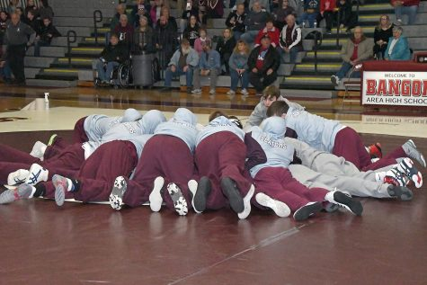 WRESTLERS READY TO RUMBLE