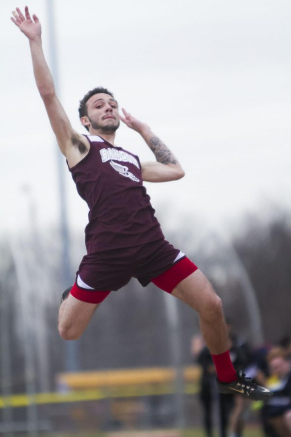 BOYS TRACK AND FIELD JUMPING BACK INTO SEASON