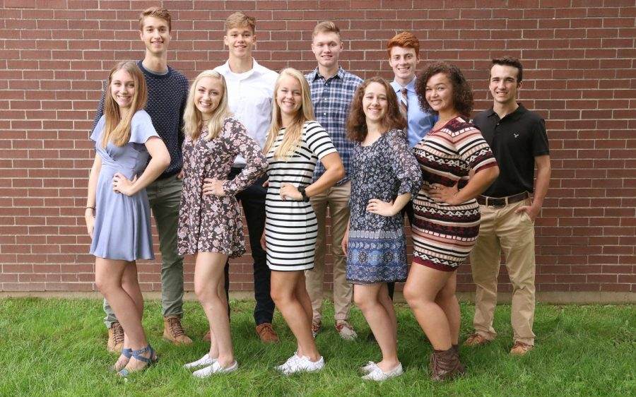 MEET THE 2018 HOMECOMING COURT