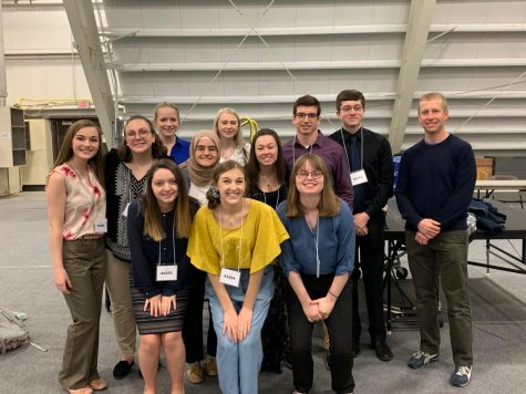 BHS SCIENCE STUDENTS PRESENT FIRST PLACE RESEARCH