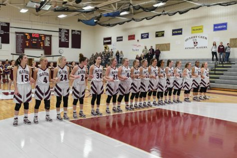 LADY SLATERS BASKETBALL HEADS TO STATES