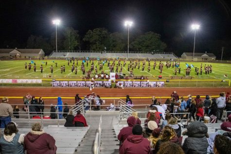 BRING THE NOISE--The Slater Marching Band delivers an amazing performance of