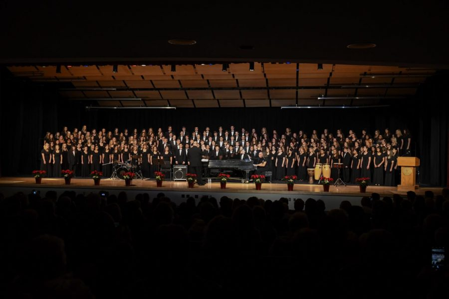CHOIR; THE ULTIMATE TEAM SPORT--The full choir performs a well-rehearsed and very diverse program to set off the winter season.