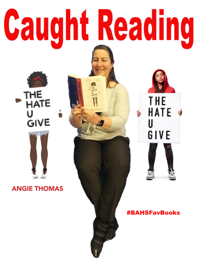'CAUGHT READING' TRENDS WITH #BAHSFavBooks